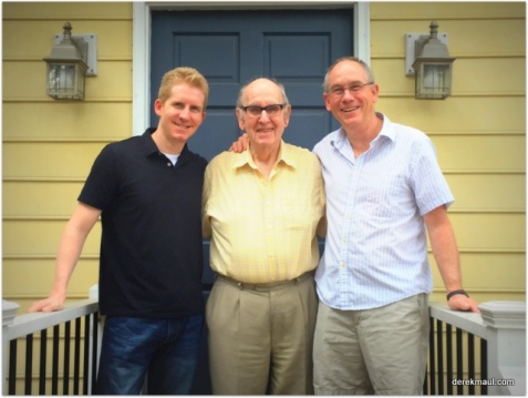 Andrew, David, Derek