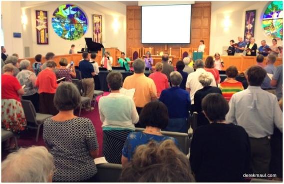 prayer and worship at WFPC