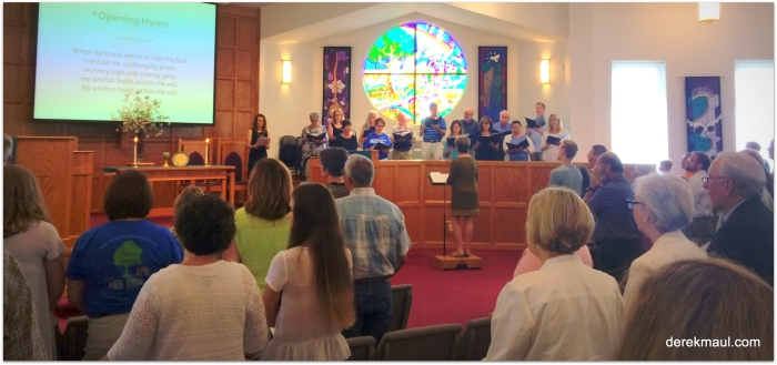 In spirit and in truth – meeting God in worship at Wake Forest Presbyterian Church