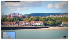 Folkestone from the harbor