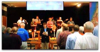 John inviting us to worship