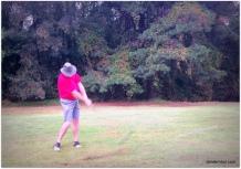 playing partner, Dan Gregory