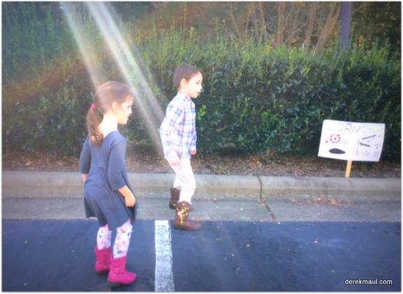 Beks, David, and a sunbeam