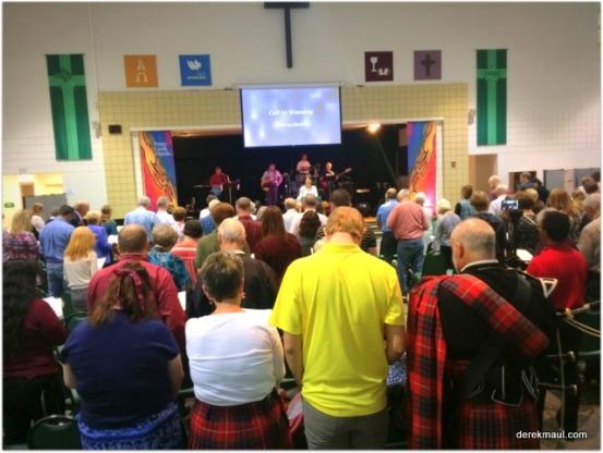 Praise service worship