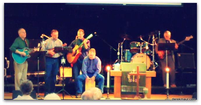 left to right: Derek, Dan, Tim, Brett, Hans