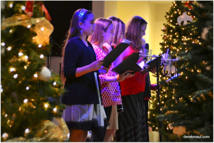 Classic photos from Christmas at WFPC!