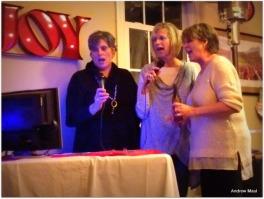 Karaoke with the choir
