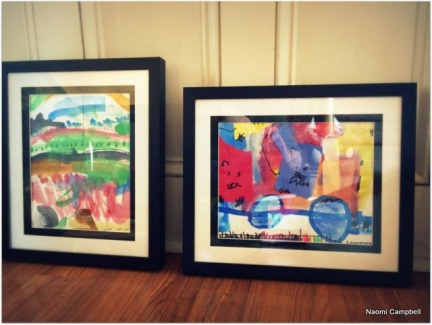 David gifted art work!