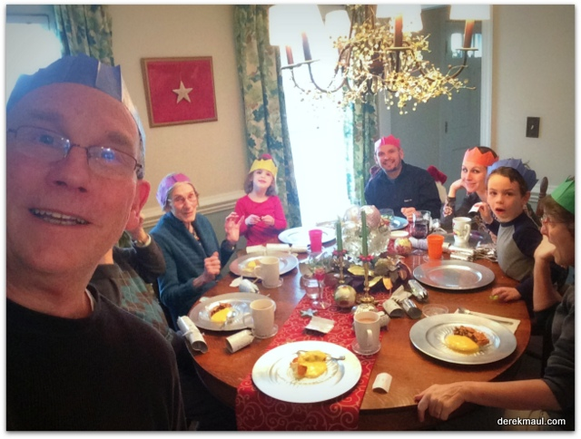 Boxing Day fun – lots of food and even more love