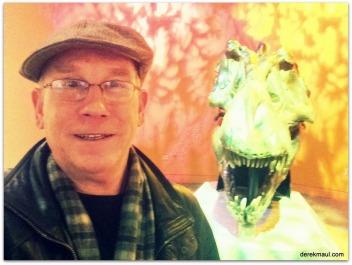 my new friend, Mr. Dinosaur