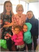 with great-grandma Grace