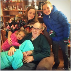 with great-grandpa David