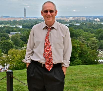 the writer in Washington