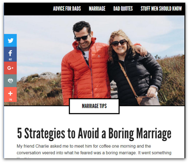 1-5 Strategies to Avoid a Boring Marriage - All Pro Dad All Pro Dad - Google Chrome 452018 85558 AM