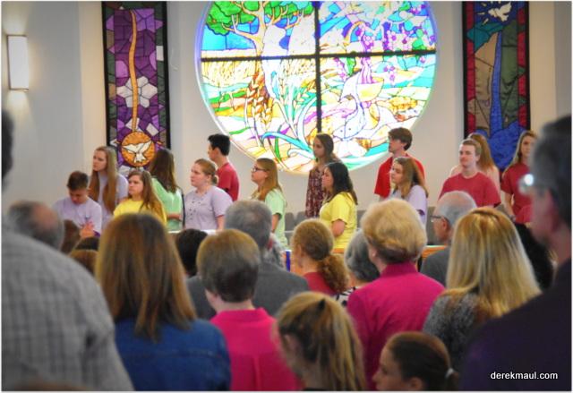 Teenagers + passion + faith + life = a brightfuture