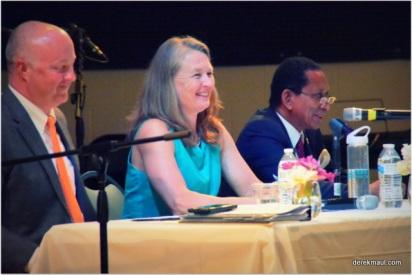 panelists Jackson, Copeland, and McKissick