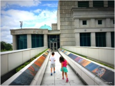 museum roof downtown Raleigh