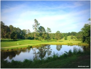 golf less than a mile from our house