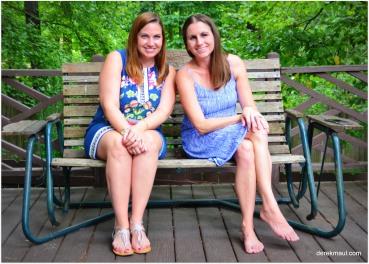 cousins - Hannah and Naomi
