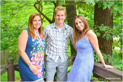 Hannah, Andrew, Naomi