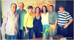 Terry, Derek, Rebekah, Vivian Howard, Leslie, Scott, Brad