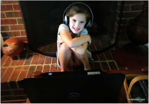 earphones and YouTube
