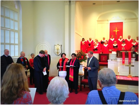Presbytery of New Hope commission at Henderson