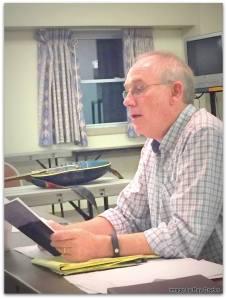 Derek Maul teaching