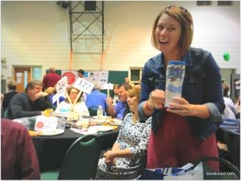 Katherine Peiper wins a door prize!