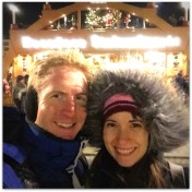 Andrew and Alicia in Germany