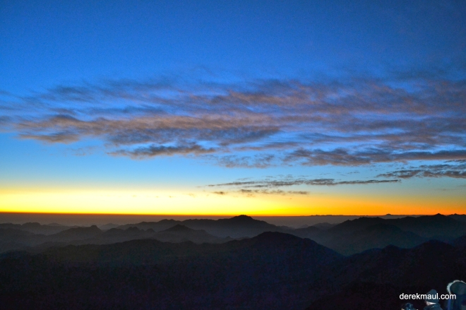 first light from summit