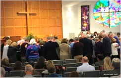 """""""laying on of hands"""" ordination prayer"""