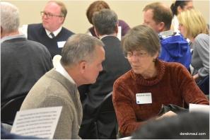 PDA - national executive - sharing vision with Rebekah Maul