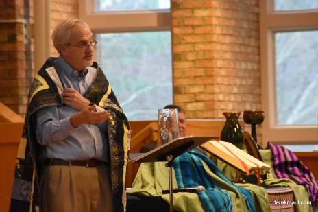 New Hope exec Ted Churn sharing vision