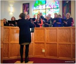 "Sanctuary choir ""bringing it"""