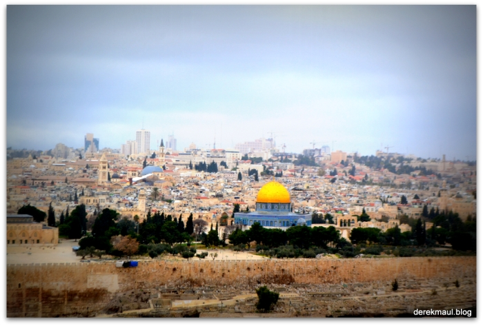 The Old City from Mount of Olives