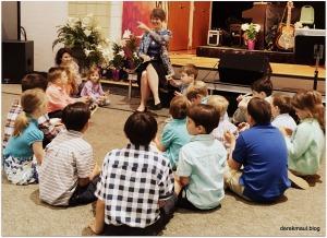 Rebekah with kids (9:00)
