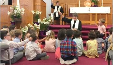 Rebekah with kids (11:15)