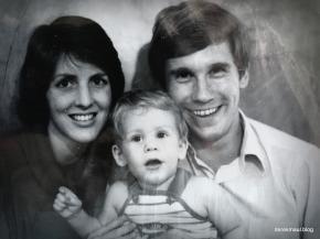 Rebekah, Andrew, Derek circa 1984