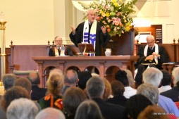 Presbytery exec Ted Churn