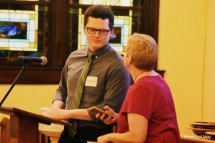 new pastor examined for ordination