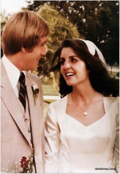 Derek and Rebekah - 40 years