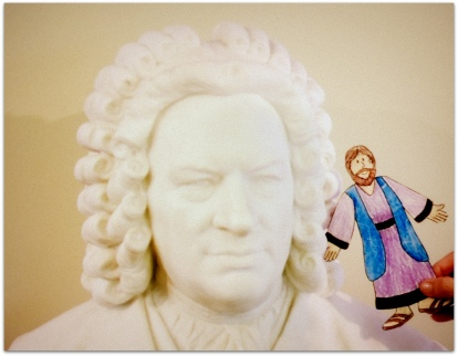 Bach and a friend