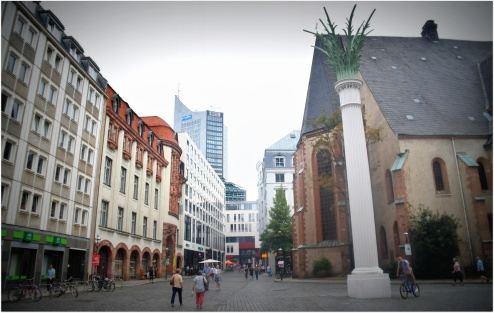 St Nicholas' with monument