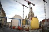 construction near the Frauenkirche
