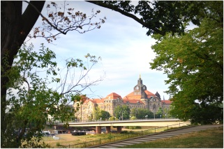 across the Elbe