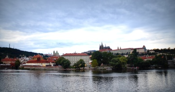 Looking across the river from Old Town