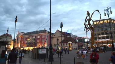 Old Town at dusk
