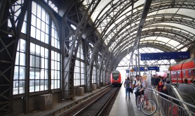 the main station in Dresden