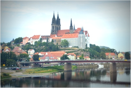 Meissen from the train